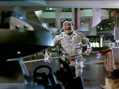 Dick Miller in Chopping Mall